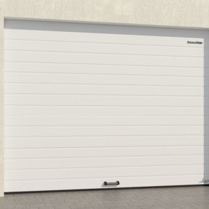 Гаражные секционные ворота DoorHan из алюминиевых сэндвич-панелей с пружинами растяжения