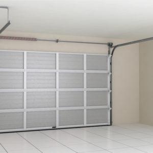 Гаражные секционные ворота DoorHan из стальных однослойных панелей с торсионным механизмом