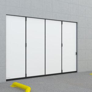 Промышленные откатные ворота DoorHan без нижней направляющей (Копировать)