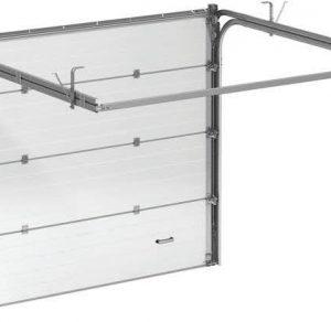 Автоматические секционные ворота ALUTECH Trend с приводом MARANTEC Comfort50