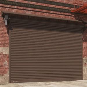 Стальные рулонные ворота из профиля DoorHan RHS 117/0.8 с внутривальным электроприводом (Копировать)