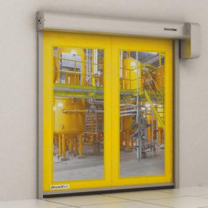 Скоростные рулонные ворота DoorHan Speedroll SDF для пищевой промышленности