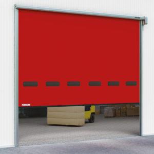 Скоростные рулонные ворота DoorHan Speedroll SDO для наружного применения