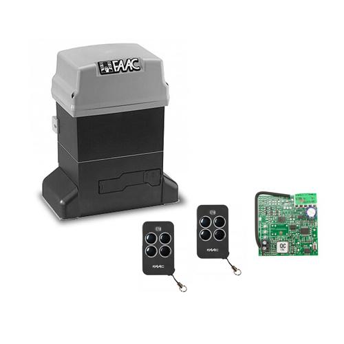 Набор привод Faac 746 KIT для откатных ворот + Пульты RC
